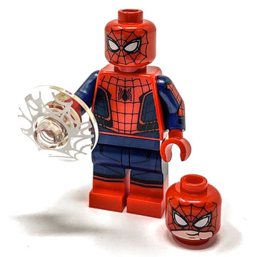 Spider-Man (Black Web Pattern) - LEGO Marvel Spider-Man: Far From Home Minifigure