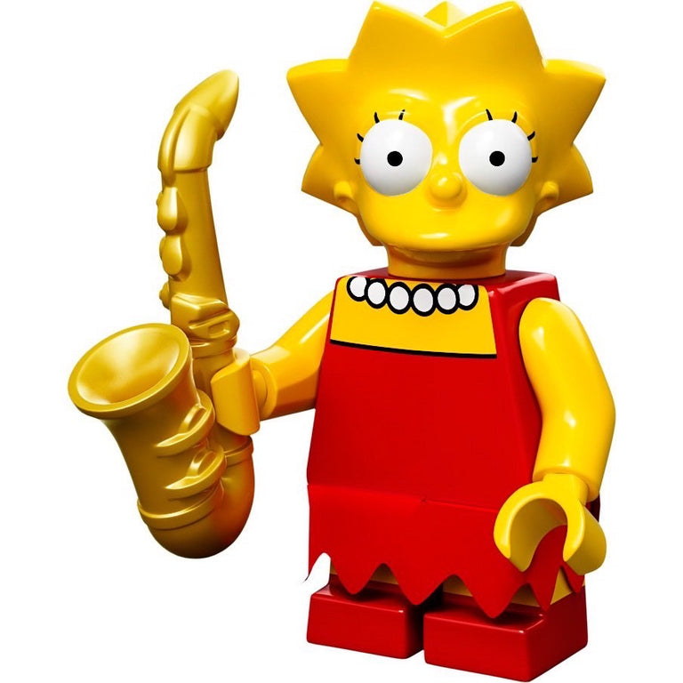 Lisa Simpson - LEGO Simpsons Collectible Minifigure (Series 1) (2014)