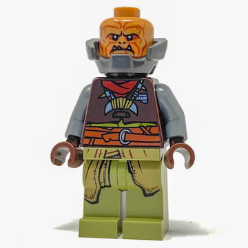 Klatooinian Raider with Neck Armor - LEGO Star Wars Mandalorian Minifigure (2019)