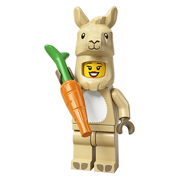 Llama Costume Girl - LEGO Series 20 Collectible Minifigure