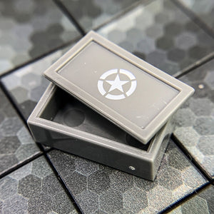 Ammo Case with Star - BrickForge Part for LEGO Minifigures