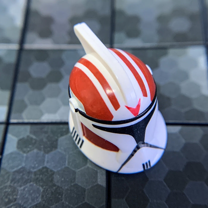 Rocket Clone Trooper Helmet (Phase 1, Battlefront, Dark Red) - Clone Army Customs
