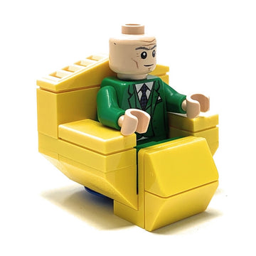 Professor X (Charles Xavier) with Hover Chair - Custom LEGO Marvel Minifigure