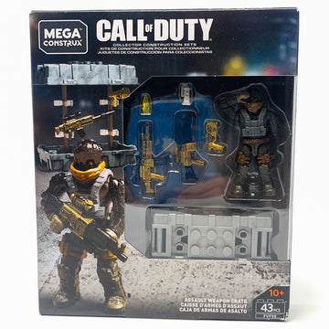 Assault Weapon Crate - Mega Construx Call of Duty Set