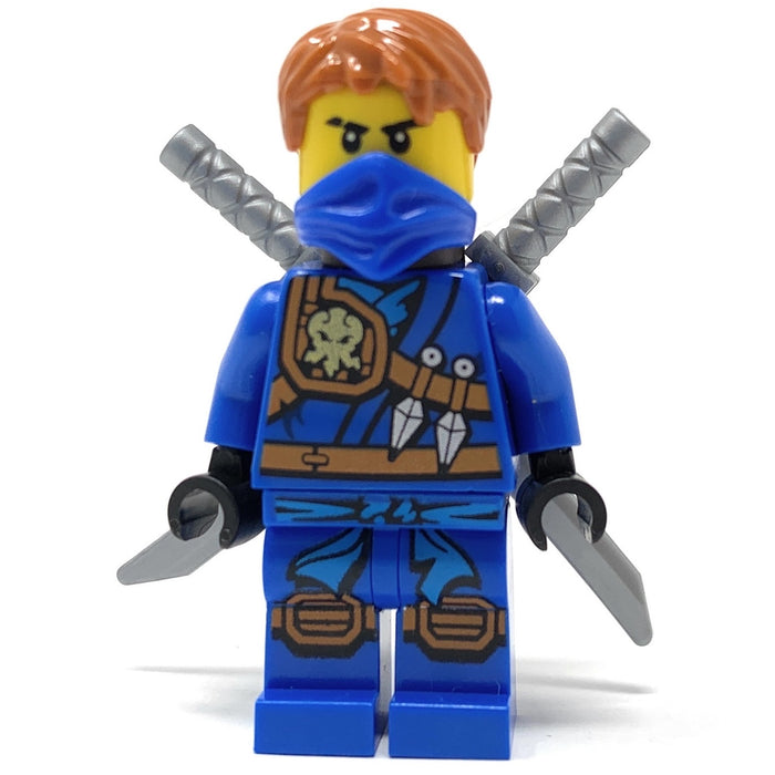 Jay (Tournament of Elements, Jungle Robe, Bandana) - LEGO Ninjago Minifigure (2016)