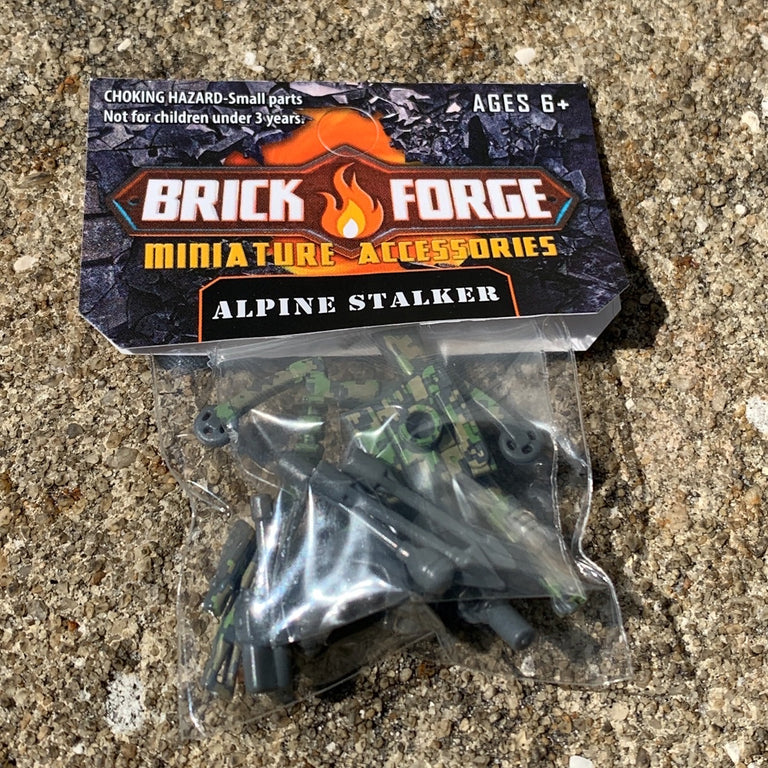 Alpine Stalker Minifig Accessory Pack - BrickForge