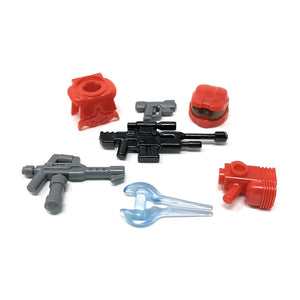 Power Assault (Red) - BrickForge Minifigure Weapons Pack