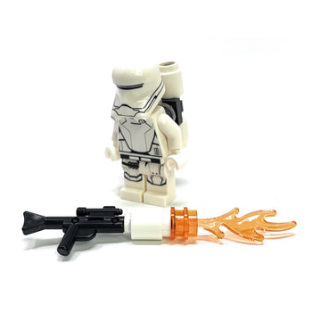 First Order Flametrooper w/ Backpack, Gun - LEGO Star Wars Minifigure