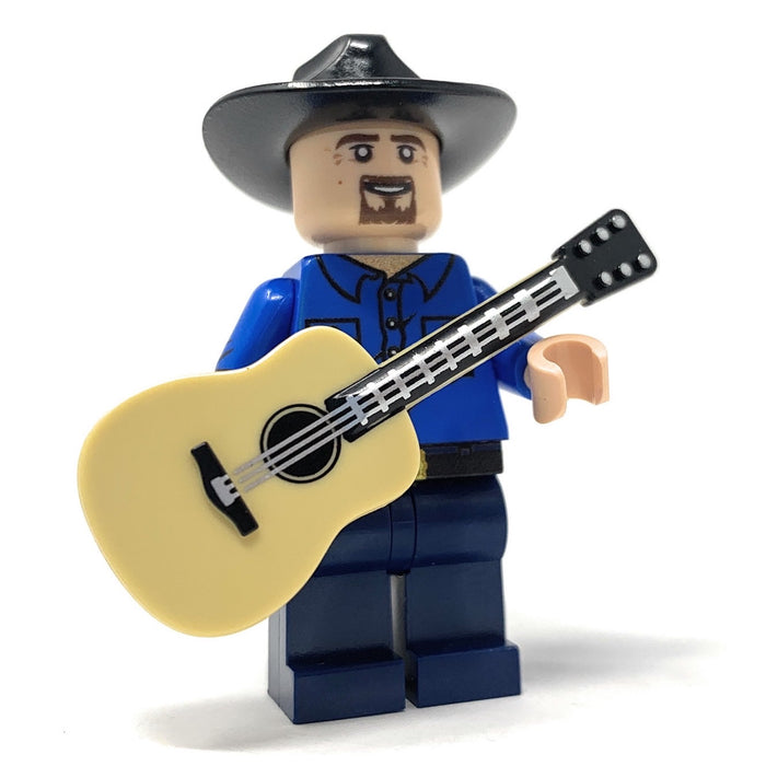 Garth Brooks - Custom LEGO Musician Minifigure