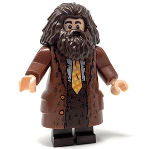 Rubeus Hagrid (Goblet of Fire, Coat w/ Yellow Tie) - LEGO Harry Potter Minifigure (2019)