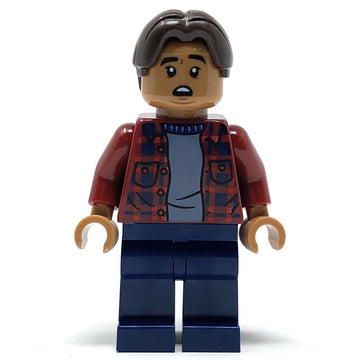 Ned Leeds (Plaid Shirt) - LEGO Marvel Spider-Man: Far From Home Minifigure