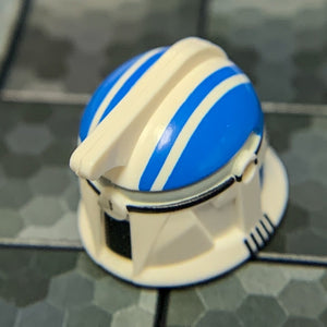 501st Rocket Clone Trooper Helmet (Phase 1, Blue/Red Markings) - Clone Army Customs