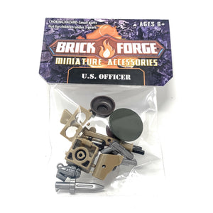 U.S. Officer - WW2 BrickForge Pack for LEGO Minifigures