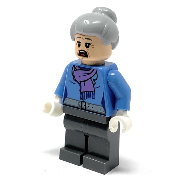 Aunt May (Light Purple Scarf) - LEGO Marvel Minifigure (2016)