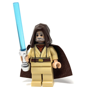 Obi-Wan Kenobi (New Hope, Cape + Hood) - LEGO Star Wars Minifigure (2019)