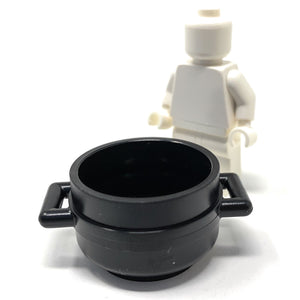 Pot / Cauldron with Handles - Official LEGO® Part
