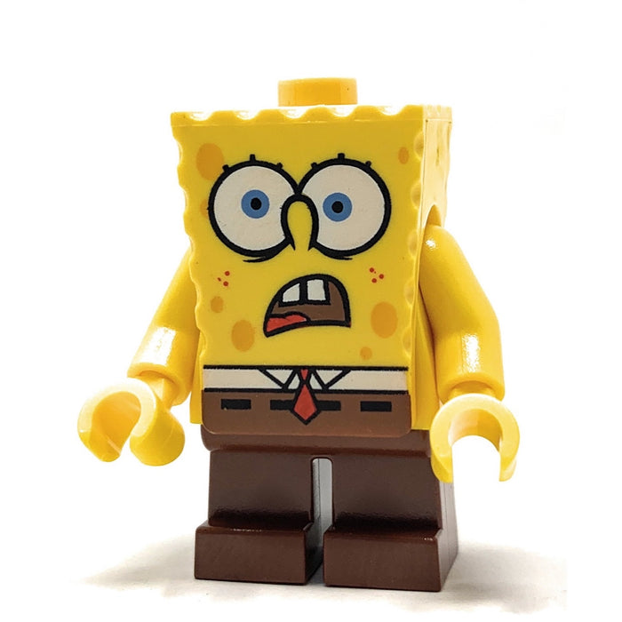 SpongeBob SquarePants (Shocked) - LEGO SpongeBob Minifigure (2007)
