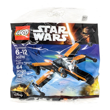 Poe's X-Wing Fighter - LEGO Star Wars Polybag Set (30278)