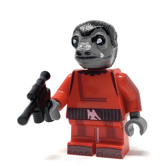 Snaggletooth (Red Outfit) - Custom LEGO Star Wars Minifigure