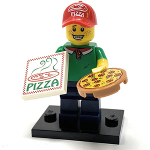 Pizza Delivery Man - LEGO Series 12 Collectible Minifigure (2014)