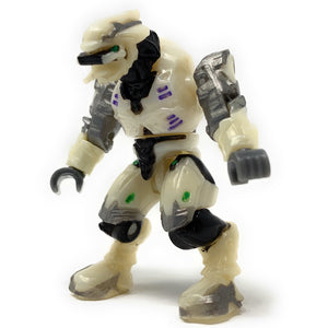 Covenant Elite Ultra (White Armor) - Mega Construx Halo Micro Figure (2010) [LOOSE]