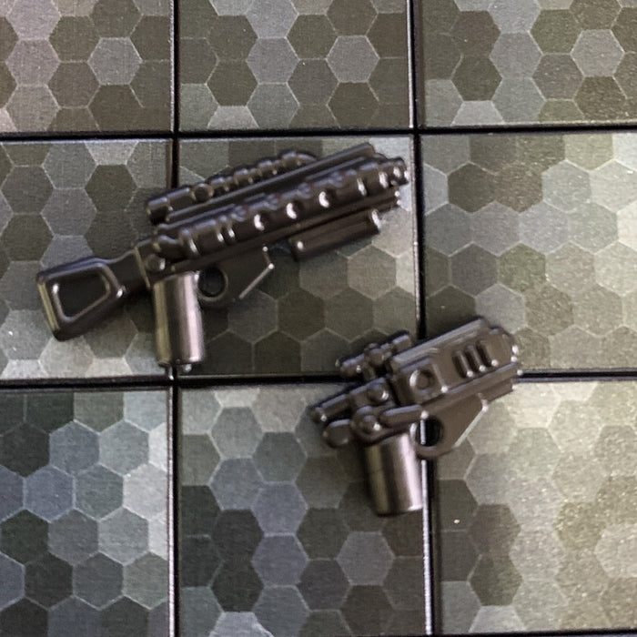 Rifle & Pistol, Dark Warrior Pack - BrickArms