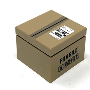 Package / Shipping Box - Custom Printed LEGO 2x2 Tile/Brick