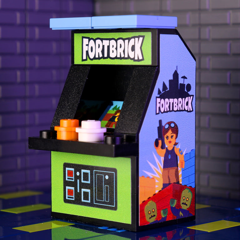 Custom LEGO Fortbrick Arcade Machine