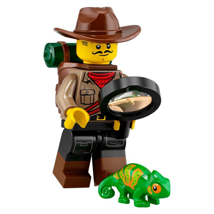 Jungle Explorer - LEGO Series 19 Collectible Minifigure