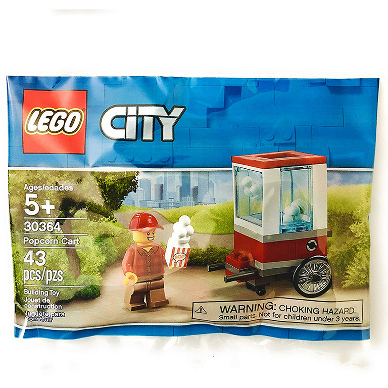 Popcorn Cart - LEGO City Polybag (30364)