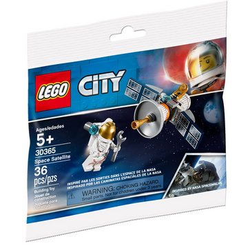 Space Satellite - LEGO City Polybag Set (30365)