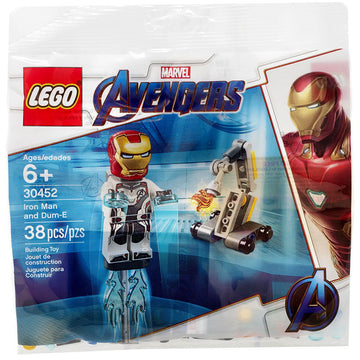 Iron Man and Dum-E - LEGO Marvel Avengers Polybag Set (30452)