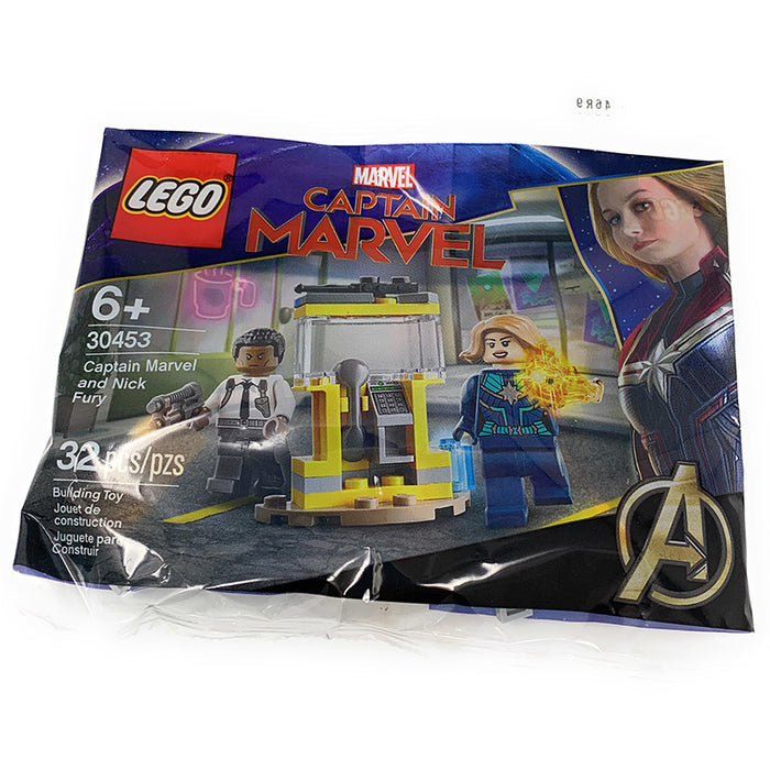 Captain Marvel & Nick Fury - LEGO Marvel Polybag Set (30453)