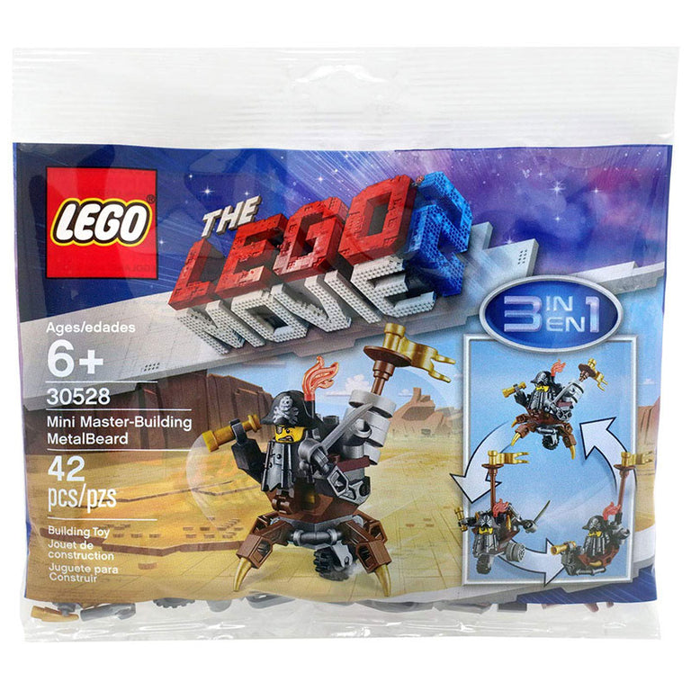 Mini Master-Building MetalBeard - LEGO Movie 2 Polybag Set (30528)