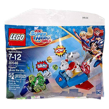 Krypto Saves the Day - LEGO DC Comics Super Hero Girls Polybag Set (30546)