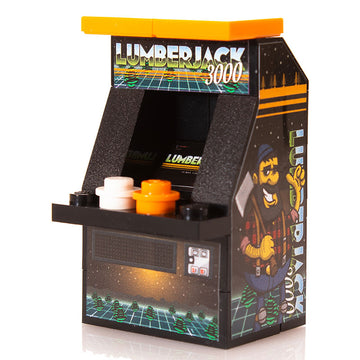 Lumberjack 3000 - Custom LEGO Arcade Machine