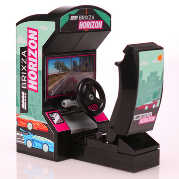 Brixza Horizon - Custom LEGO Arcade Racing Game