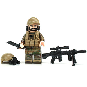 Army Special Forces Sniper OCP - Custom LEGO Military Minifigure