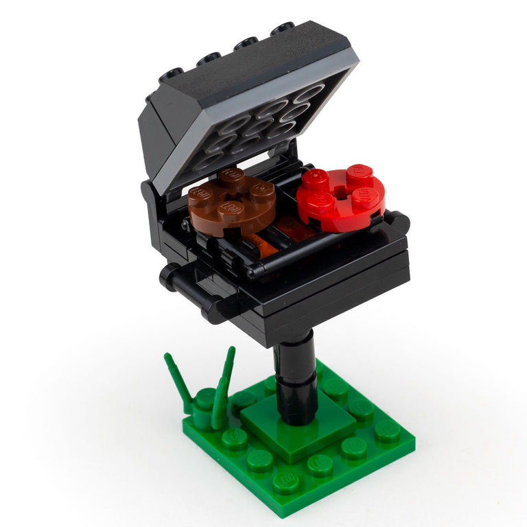 BBQ Grill (Summer Fun!) - Custom LEGO Building Set