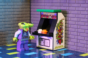 Custom LEGO Brickipede Arcade Machine