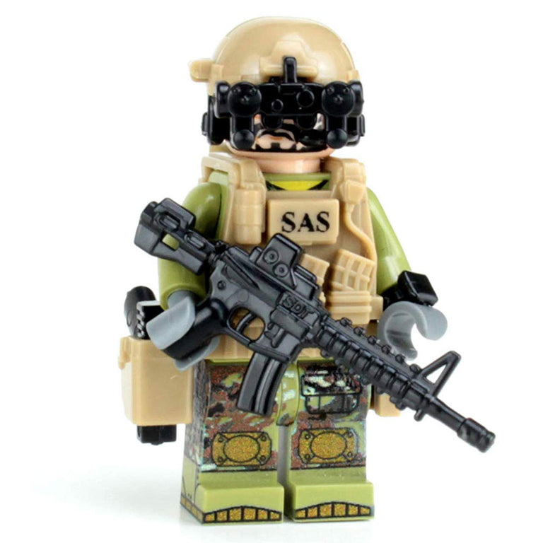 Modern British SAS Commando - Custom LEGO Military Minifigure