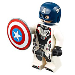 Captain America (Endgame) - LEGO Marvel Minifigure (2019)