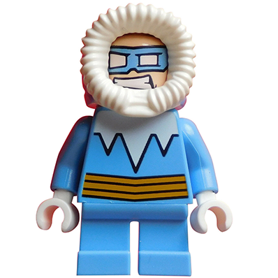 Captain Cold (Short Legs) - LEGO DC Comics Minifigures