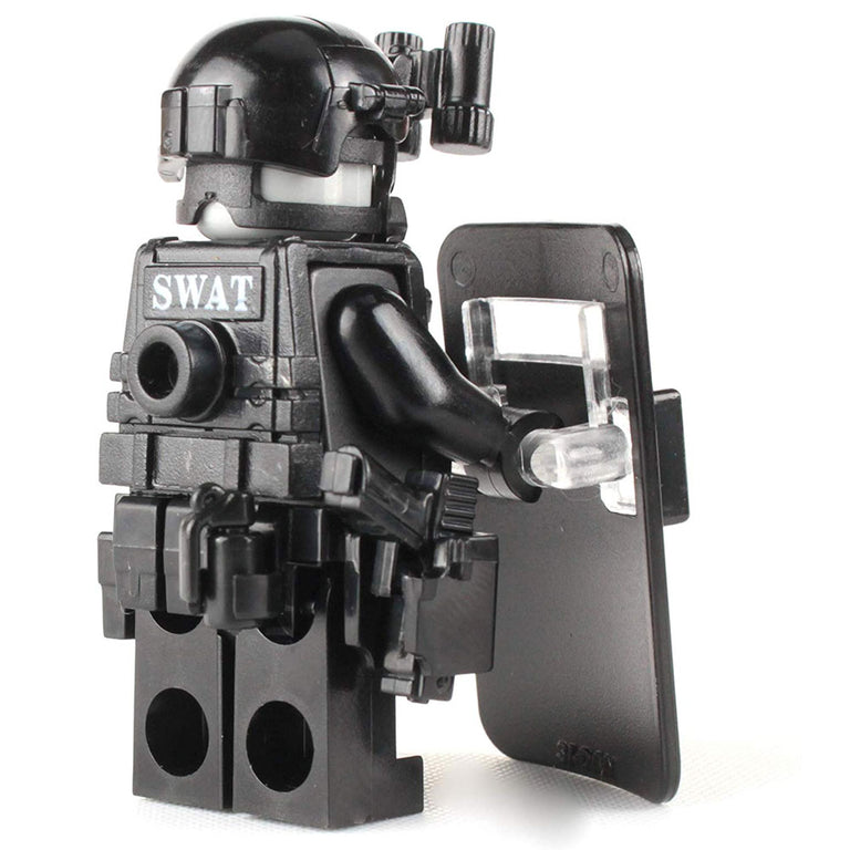 SWAT Police Officer Pointman - Custom LEGO Military Minifigure