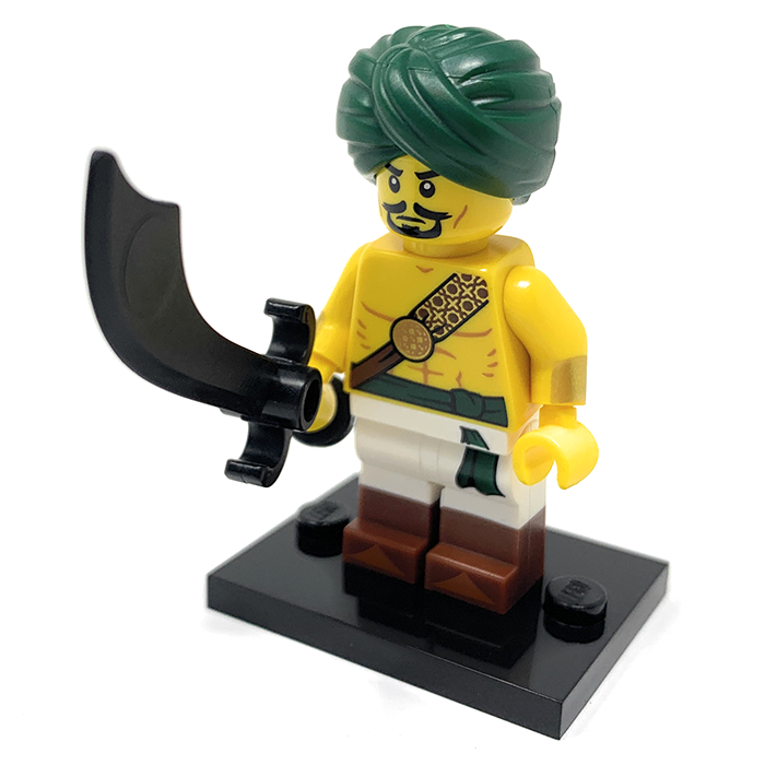 Desert Warrior - LEGO Series 16 Collectible Minifigure