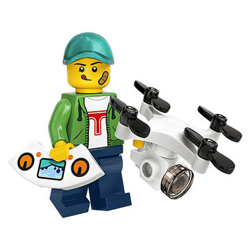 Drone Pilot - LEGO Series 20 Collectible Minifigure