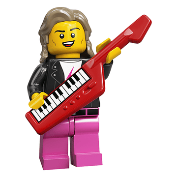 Electronic Musician - LEGO Series 20 Collectible Minifigure