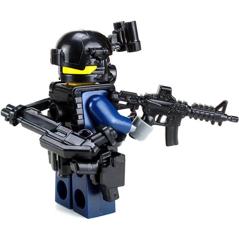 LEGO FBI/SWAT CIRG Critical Response Officer - Custom Military Minifigure