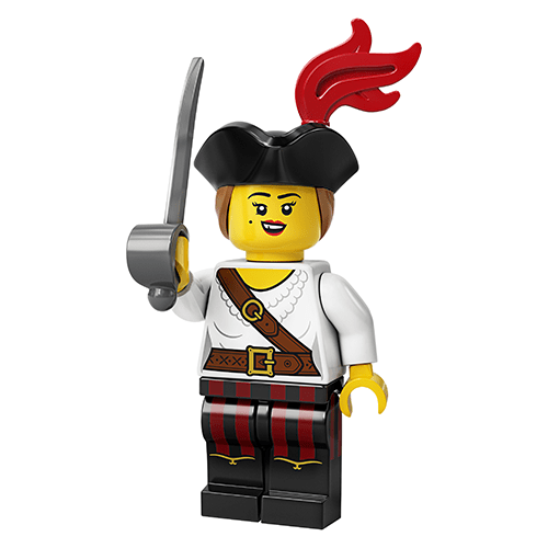 Pirate (Female) - LEGO Series 20 Collectible Minifigure