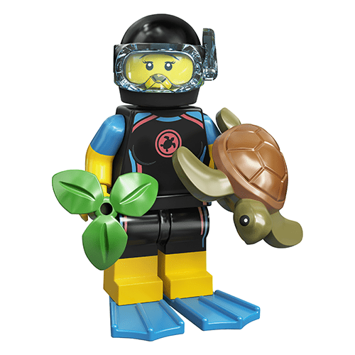 Diver - LEGO Series 20 Collectible Minifigure